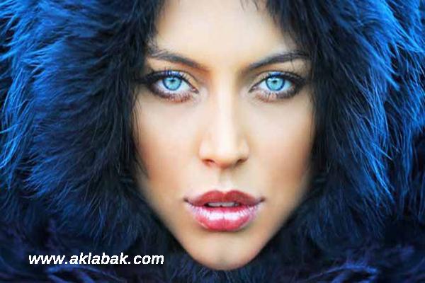 mavi gözlü bayanlar için makyaj, mavi gözlülere makyaj, mavi göze uygun makyaj